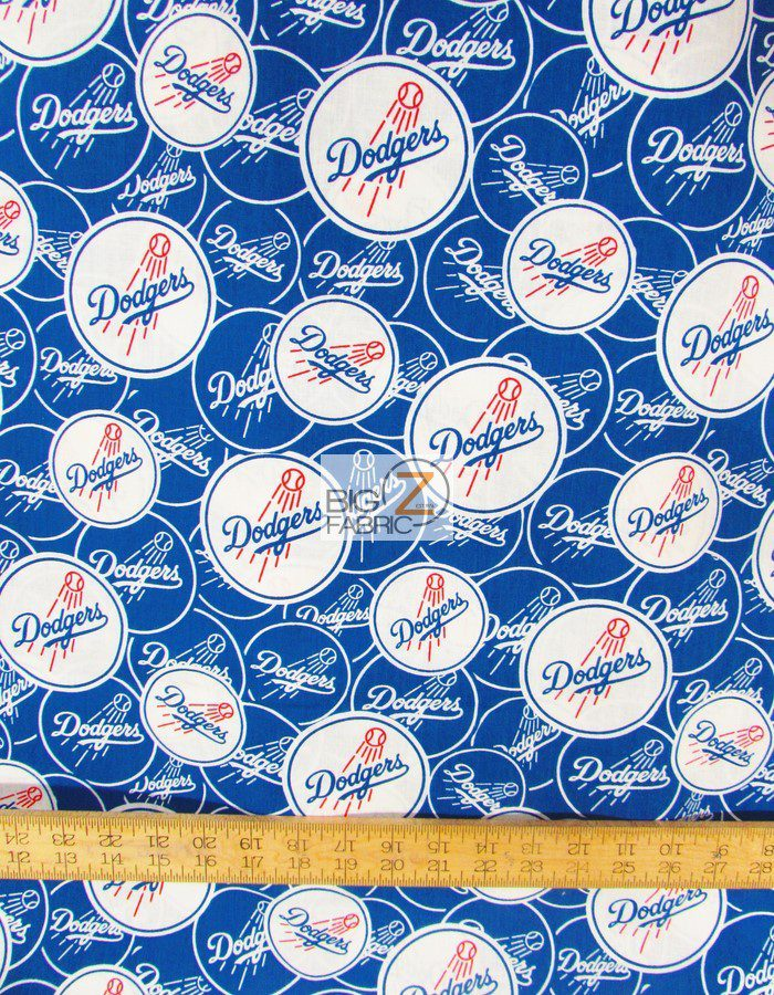 New Los Angeles Dodgers Cotton Fabric