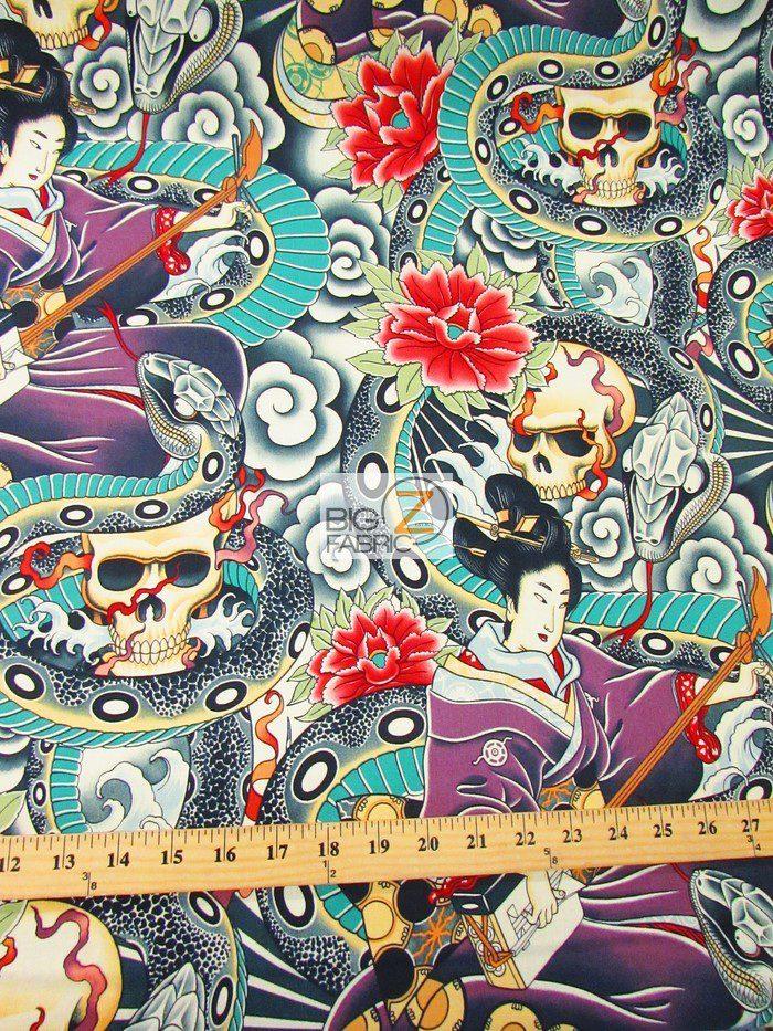 Zen Charmer Cotton Fabric By Alexander Henry