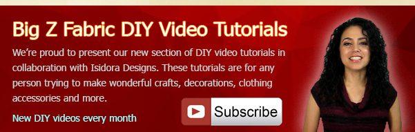 Big Z Fabric DIY Projects