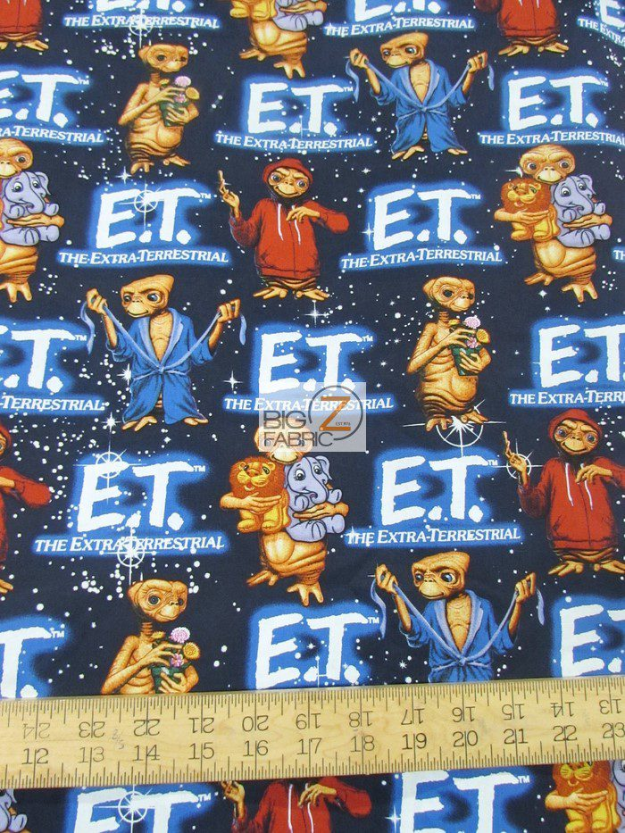 E.T. the Extra-Terrestrial Cotton Fabric