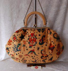 Alexander Henry Tattoo Handbag