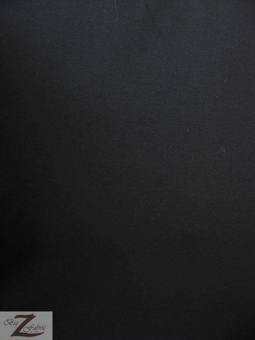 Black Uniform Heavyweight Polycotton Fabric
