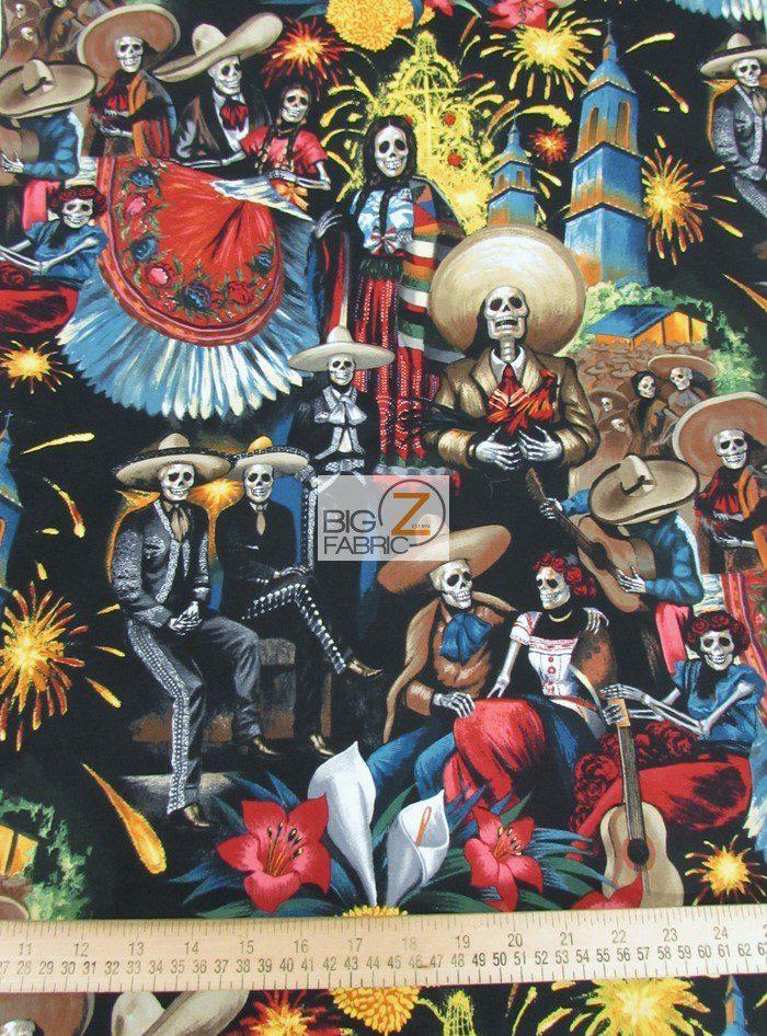 Fiesta De San Marcos Cotton Fabric