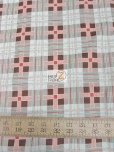 Fall Frolic Tartan Plaid Beige By Wilmington Prints Cotton Fabric