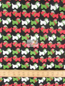 Jingle 3 Christmas Dogs Black By Robert Kaufman