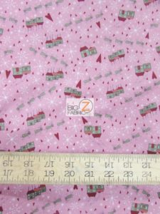 Winter Village Santa's Slay Rose By RJR Fabrics