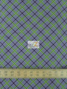 Charleston Plaid By David Textile