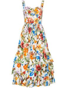 Summer Floral Cotton Dress