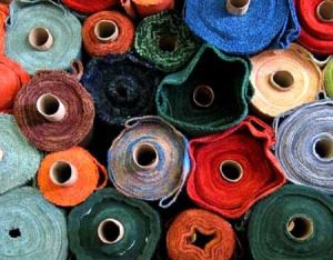 Solid Poly Cotton Fabric By The Roll