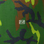 Poly Cotton Printed Fabric Army Camouflage Army 1