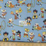 Alexander Henry Cotton Fabric Backyard Buckaroos