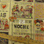 Alexander Henry Cotton Fabric Baile De Calaveras