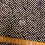 Alexander Henry Cotton Fabric Calico Cutey Black