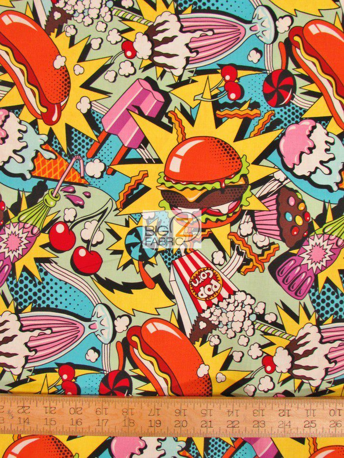 Midnight Snack Cotton Fabric By Alexander Henry