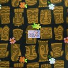 Tahiti Tiki Cotton Fabric By Alexander Henry