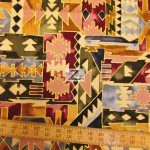 Alexander Henry Cotton Fabric Geometric Shapes