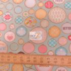 David Textiles Cotton Fabric Dream Little Dream