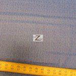 David Textiles Cotton Fabric Kristens Crosshatch Blue