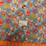 Elizabeth's Studio Cotton Fabric Christmas Joy