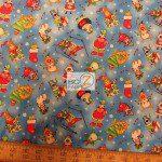 Elizabeth's Studio Cotton Fabric Christmas Joy