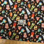 Elizabeth's Studio Cotton Fabric Happy Hour