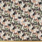 Elizabeth's Studio Cotton Fabric It's A Cat's World Hunter