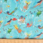 Elizabeth's Studio Cotton Fabric Summertime Underwater