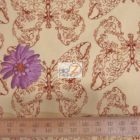Westminster Fibers Cotton Fabric Treetop Fancy Butterfly