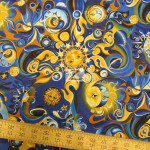 Hoffman California Cotton Fabric Celestial Dreams
