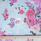 Hoffman California Cotton Fabric Isabella Sky