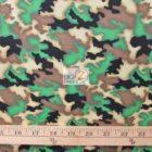 Hoffman California Cotton Fabric Safari Friends Camouflage