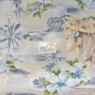 Hoffman California Cotton Fabric Woman's Island