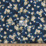 Kona Bay Fabrics Cotton Fabric Drea Floral Blue