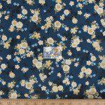 Kona Bay Fabrics Cotton Fabric Drea Floral Blue