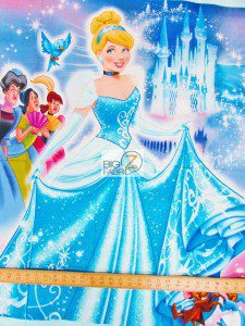 Disney Cinderella Cotton Fabric