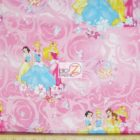 Disney Cotton Fabric Blossom Scenic Princess