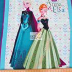 Disney Cotton Fabric Frozen Ann And Elsa