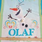 Disney Cotton Fabric Frozen Dancing Olaf