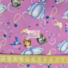 Disney Cotton Fabric Sofia And Friends