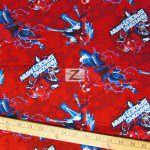Marvel Comics Spider-Man Electric Toss Cotton Fabric