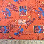 Marvel Comics Spiderman Wall Crawler Cotton Fabric