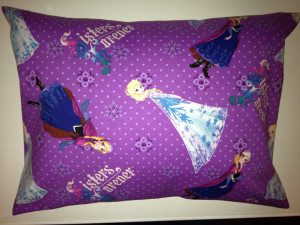 Disney Frozen Sisters Forever Cotton Pillow