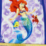 Disney Little Mermaid Ariel Cotton Fabric