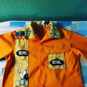 Robert Kaufman Sports Club Bowling Cotton Shirt