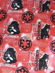 Star Wars Rogue One Darth Vader Cotton Fabric