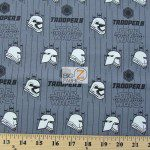 Star Wars The Force Awakens Stormtroopers Cotton Fabric