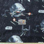 Star Wars The Force Awakens The Immortals Arial Assault Cotton Fabric