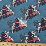 Star Wars The Force Awakens Villains Assemble Cotton Fabric