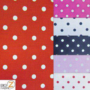 Polka Dot Cotton Fabric