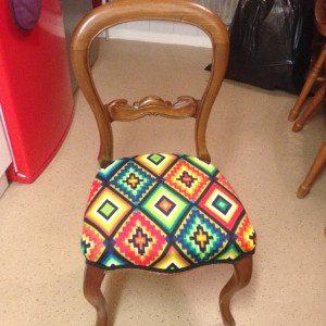 Indian Aztec Kokopelli Chair